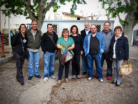 Meeting in Valencia, Spain - Carmen, quique, ikilillo, Rosy, Susana-R-, antoniodefelix, Carmelo, Humi and Mercedes.