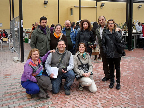 Cheste Congress 2013, Spain - Toni Pont, Mayte Denia, Carmelo, Susana-R, Quique, Mamen, Rosy, Humi and Avonia.